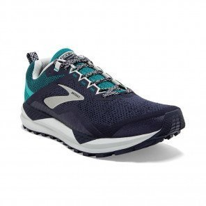 BROOKS CASCADIA 14 Homme | Navy / Blue Grass / Grey