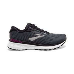 BROOKS ADRENALINE GTS 20 Femme | Ebony/Black/Hollyhock