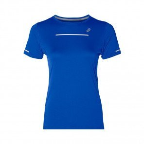 ASICS Tee-Shirt manches courtes LITE SHOW Femme | Illusion Blue | Collection Printemps-Été 2019